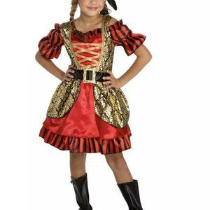Petite Pretty Pirate Kids Girl Halloween Dress Up
